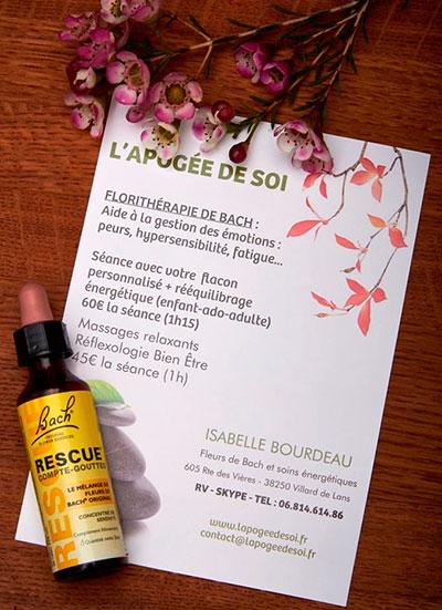 Fleurs de Bach Grenoble